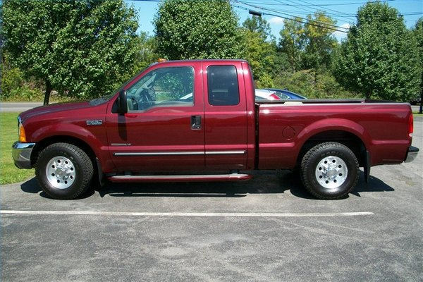This is my personal truck, a 2000 model 2WD with 120,000 miles