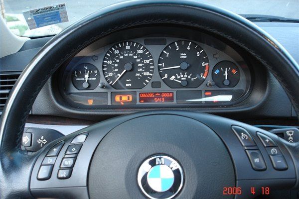 Set the Clock on a '99-'05 BMW 3 Series E46