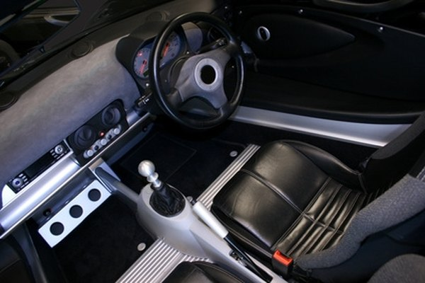 Rubber floor mats protect your interior.