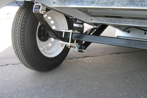 Light-duty trailer axle