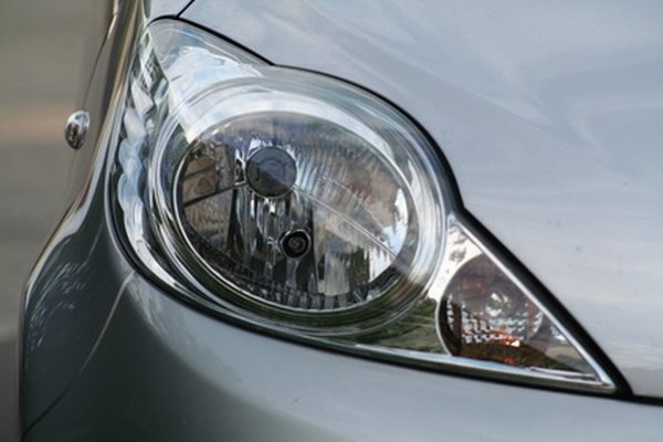 Typical headlight casing