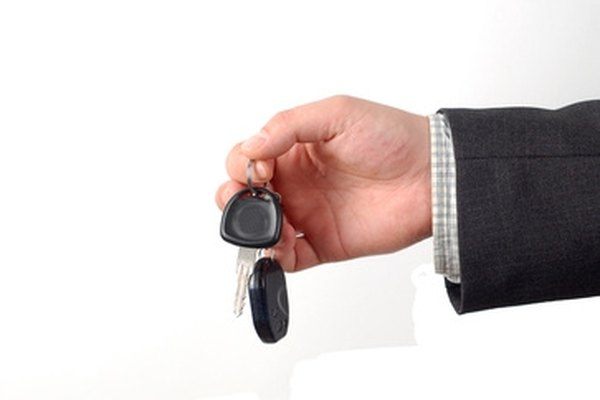 Here's the keys to your used rental car. It works just as well as a luxurious one.