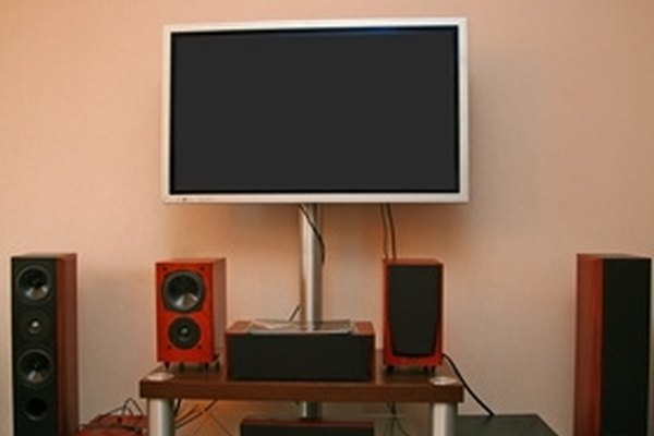Home theater surround sound setup