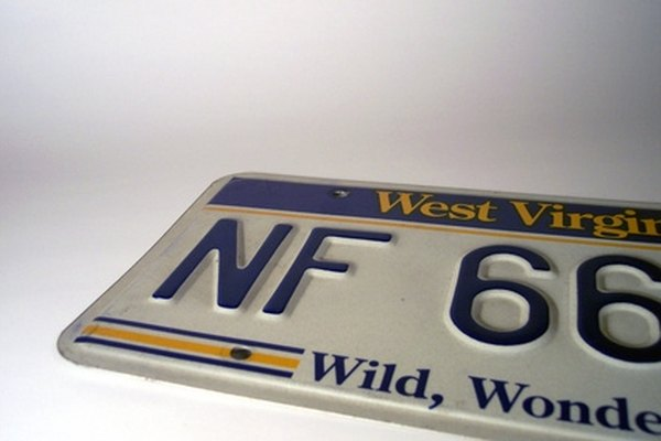 Paint your license plate yourself and save money.