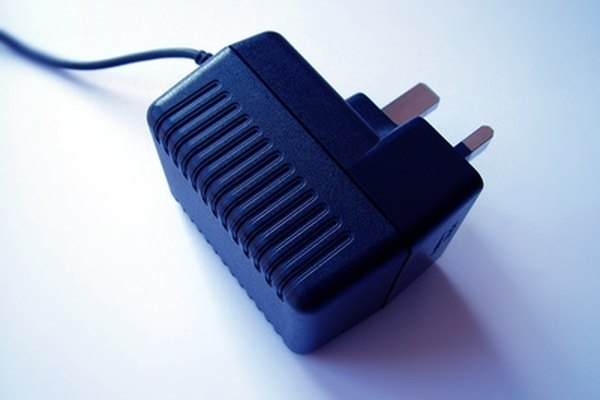 A battery charger can be fabricated from a wall adaptor and battery clamps.