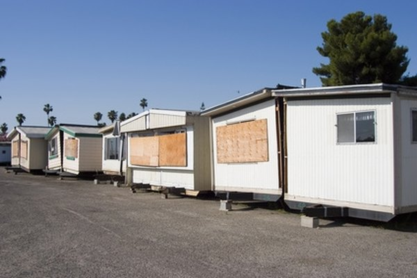 Mobile homes are still popular in retirement communities.