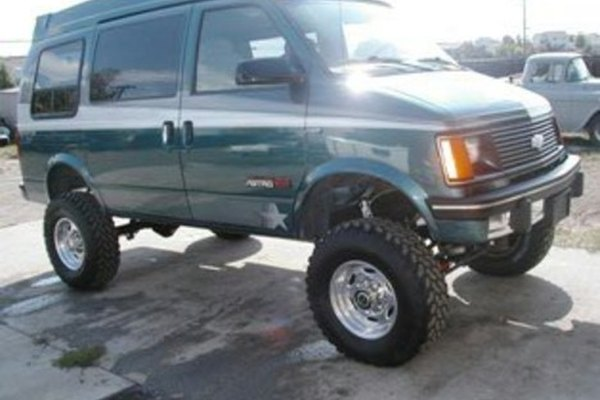 Raised van suspension