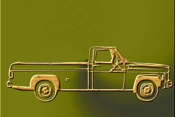 Add a wood rack to your pick-up truck.