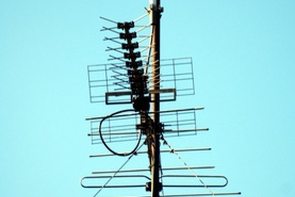 A high-gain rooftop television antenna
