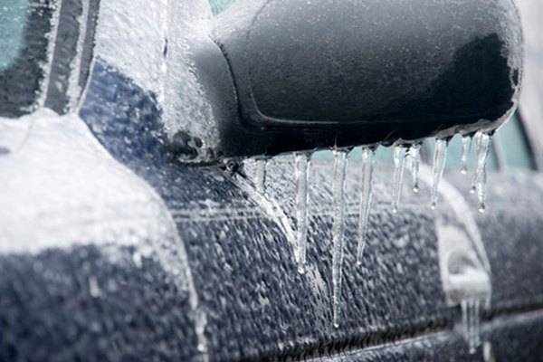 Cold temperatures can freeze fuel lines.