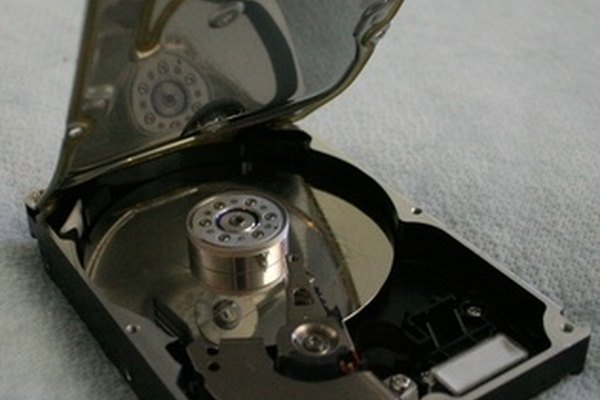 Taking apart your hard drive
