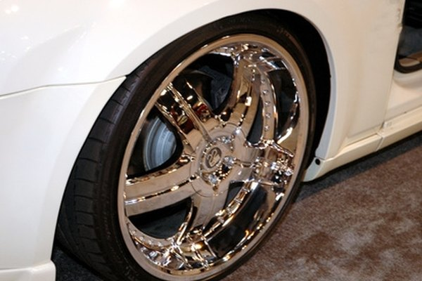 Chrome car rims