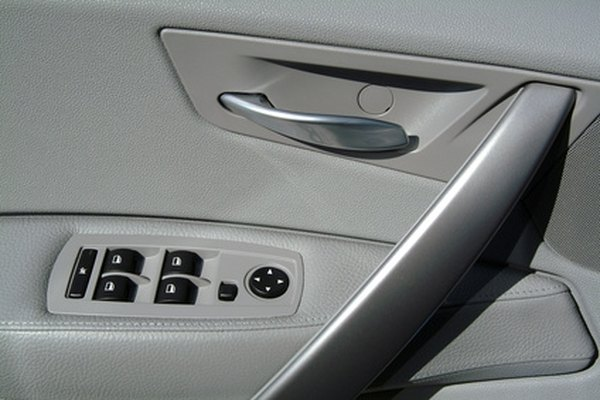 Door panel removal may be necessary for repairs to windows, power locks or door handles.
