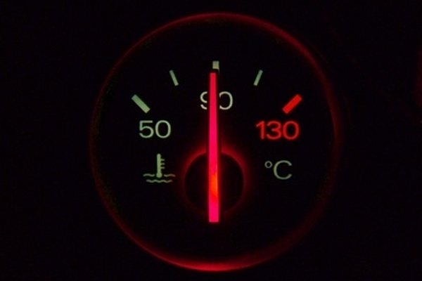 Always monitor your temperature gauge to ensure your truck is not overheating.