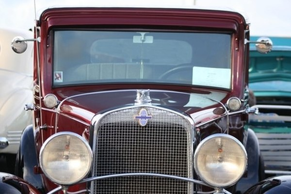 Antique cars receive special license plates in Pennsylvania.