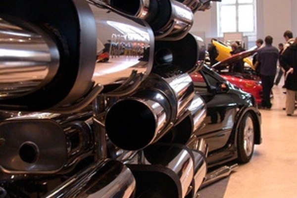 Tailpipes are the last section of a vehicle exhaust system.