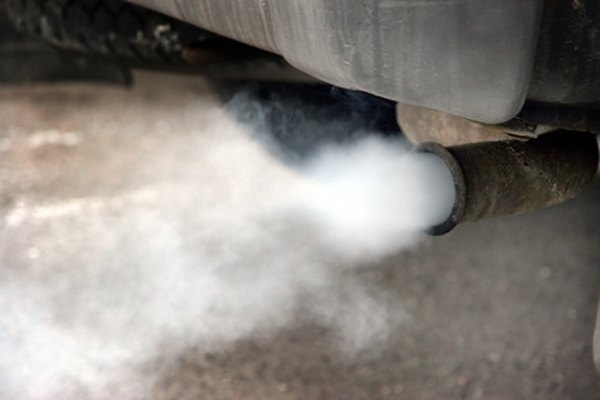 The catalytic converter reduces CO2 and monoxide from the exhaust