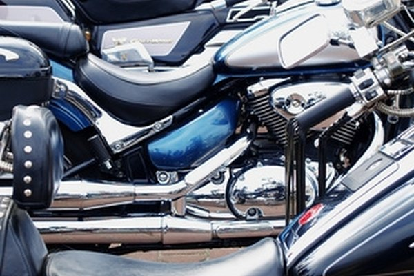 Motorcycle seats are made from layers of polyurethane or polyethylene foam.