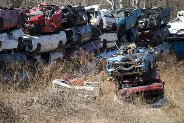 Buying a car at a junkyard can be done easily.
