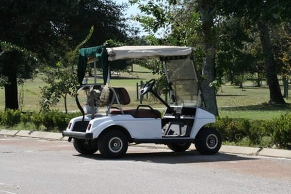 Standard golf carts require modification for driving on Michigan roads.