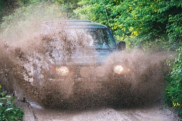 How to engage the 4 wheel drive system