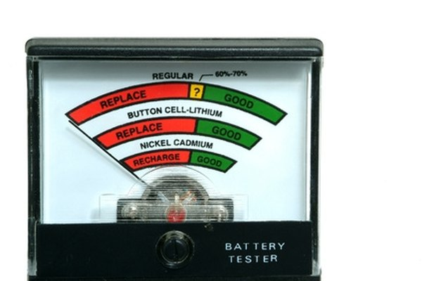 Use a battery tester to check your batteries' power levels.