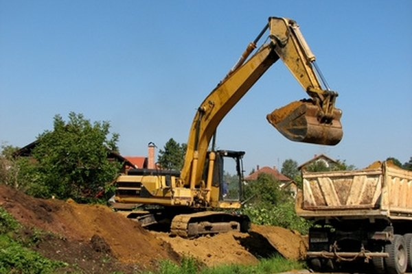 Excavators are a line of construction equipment a step above backhoes.