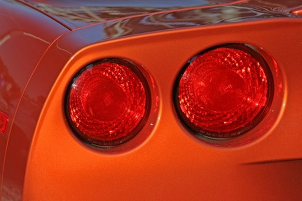 C4 Corvettes use four brake light assemblies located in the rear bumper.