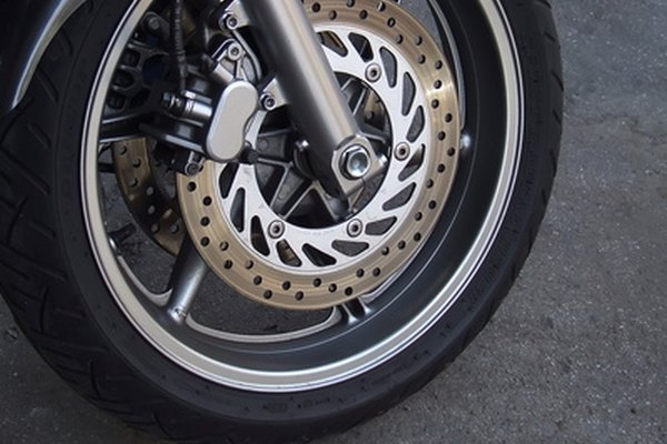 Disc brakes have lines and calipers that must be bled to rid them of air.