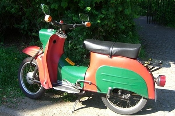 Ride a moped to work and save gas.