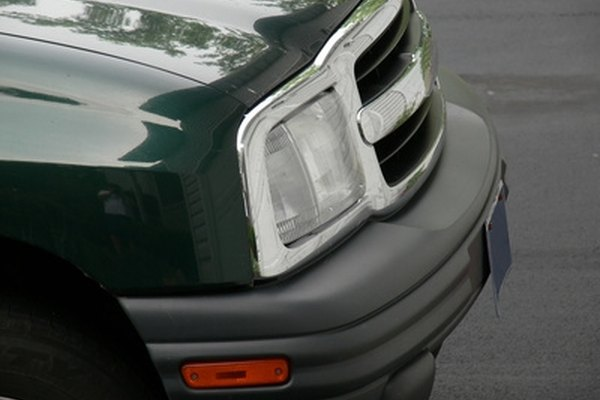 Bumpers limit damage from low-speed collisions.
