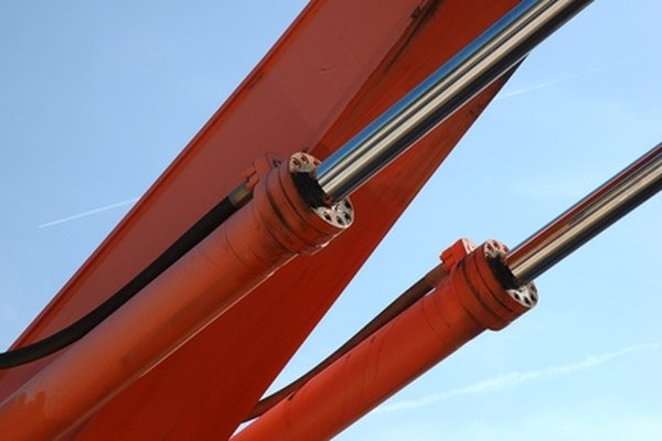 Hydraulic cylinders are similar in principle to slave cylinders.