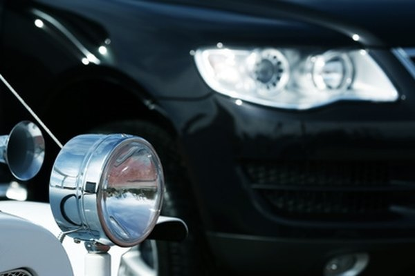 Most headlight cleaning supplies can be found at auto parts stores.