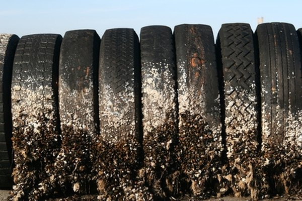 Don't get in trouble with the law by improperly disposing of tires.