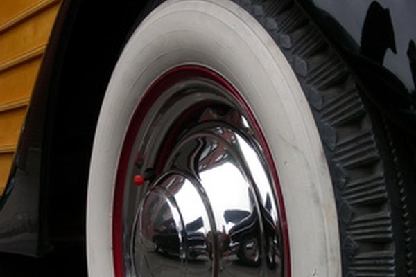 Whitewall tires look classy but can be expensive--unless you paint your own.