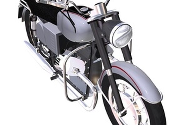 Repairing a motorcycle's gas tank is easy if you have the right tools.