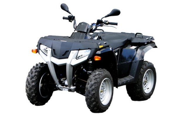 The Suzuki Vinson four-wheeler ATV is designed for riders ages 16 and up.