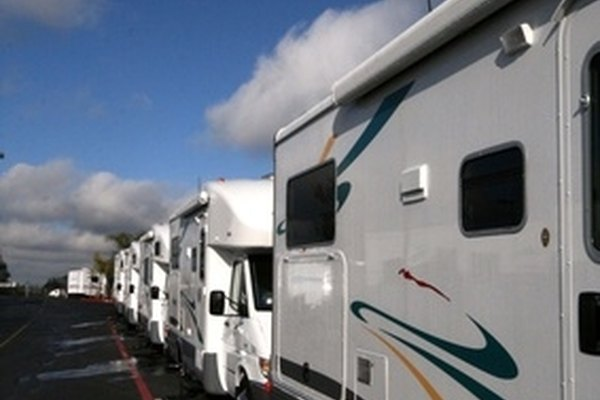 Recreational vehicles that will be parked for long periods of time in cold weather should be winterized.