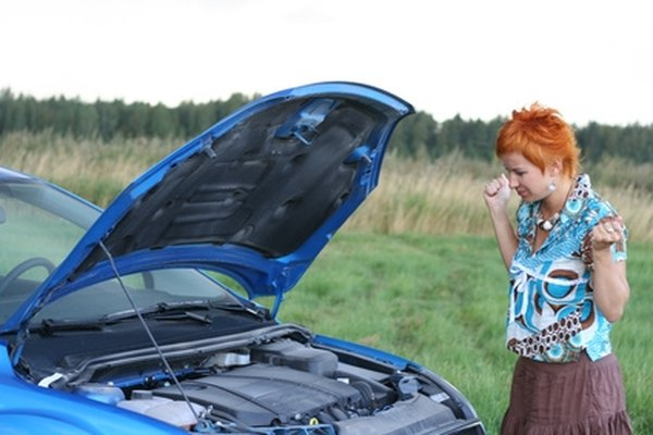 Securely close a car hood before driving.
