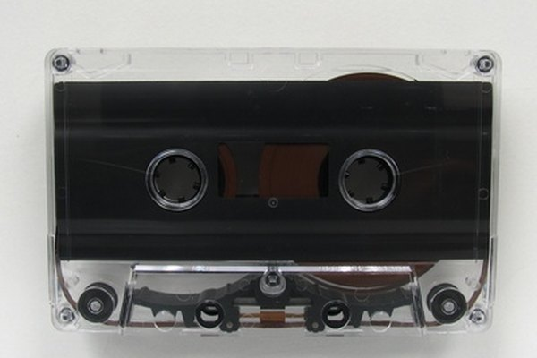 Audio cassettes leave behind oxides which must be periodically cleaned.