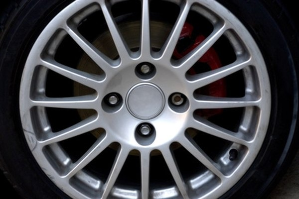 Repair scuffs on your car's rims to restore the original look.