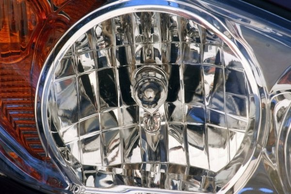 Clean and polish your headlight lenses to remove debris and scratches.