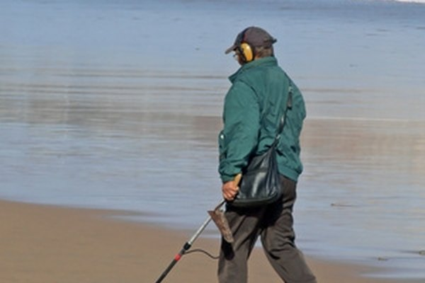 A metal detector can distinguish different types of metals.