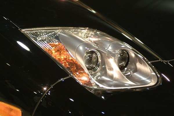 The headlights on a G6 are fit tightly into the front end.