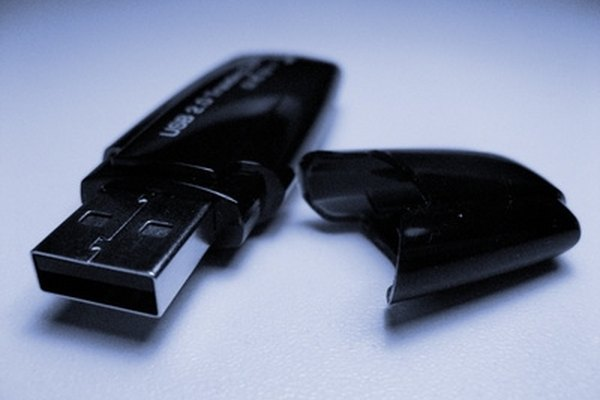 Use a USB flash drive to transfer hardware drivers from one computer to another if you do not have access to the Internet.