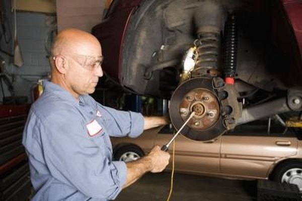 Remove Rear Brakes from a Ford Focus