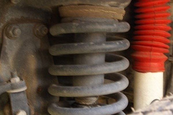 Coil springs are an integral part of a vehicle's suspension.