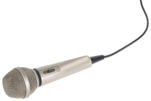A measurement microphone is designed specifically for measuring decibels.