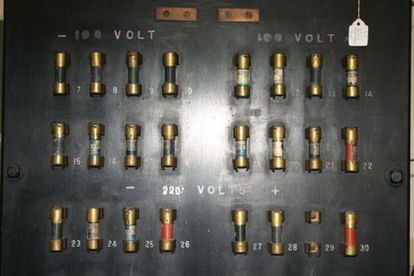 A fuse panel conveniently organizes your fuses so you can easily see damaged elements.