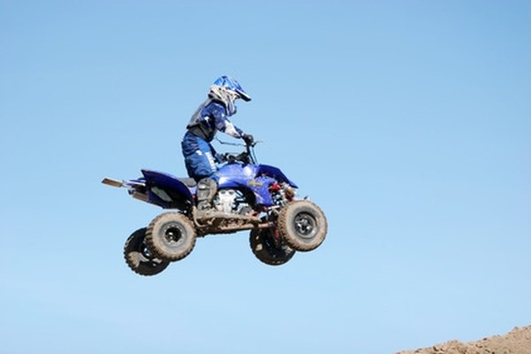 ATVs, or all-terrain vehicles, are made for off-road driving.